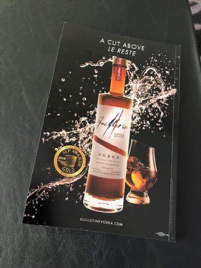 Guillotine Vodka Magazine