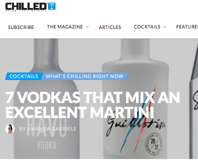 Guillotine Vodka - Chilled Magazine