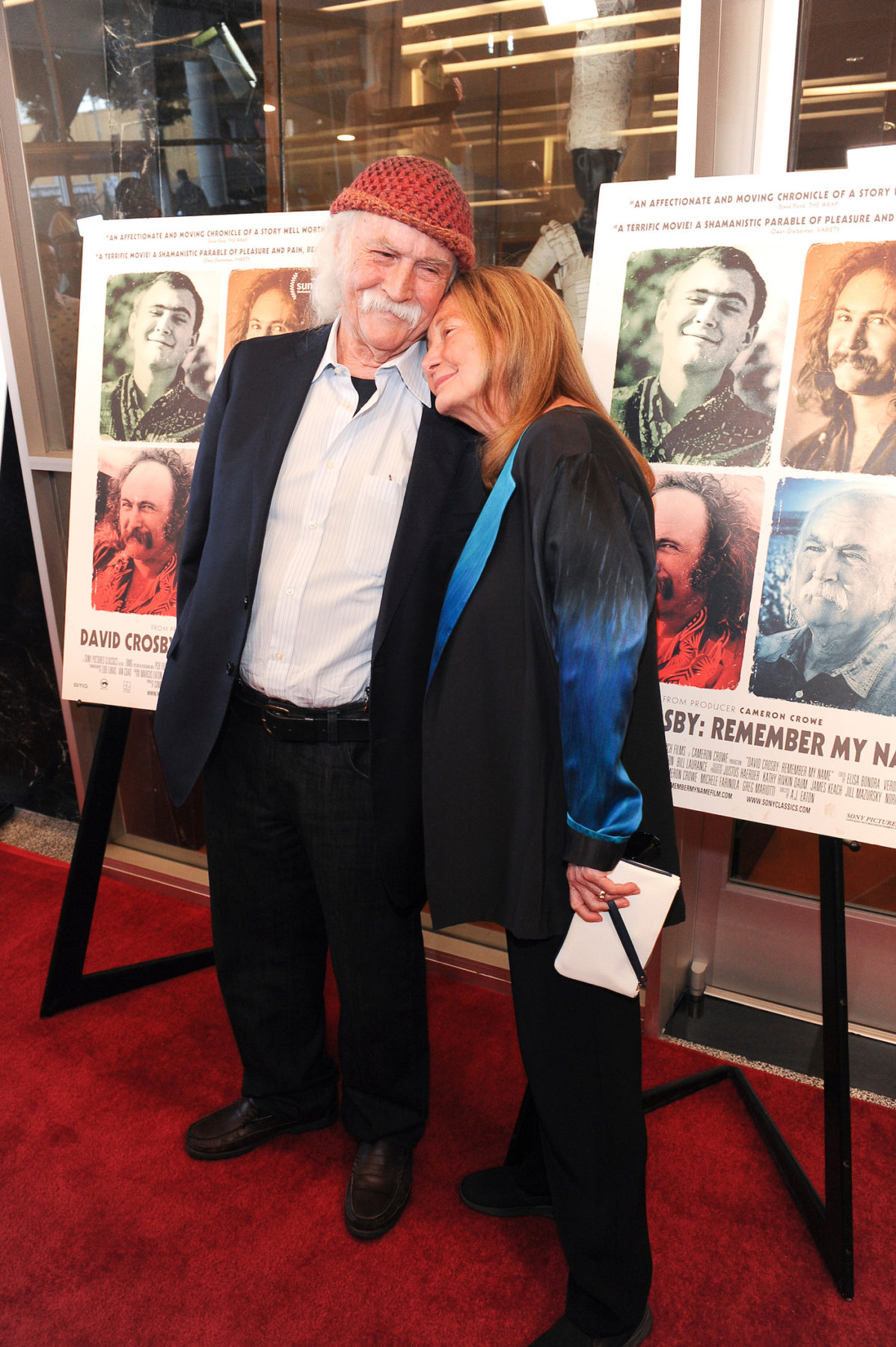 David Crosby with spouse Jan Dance