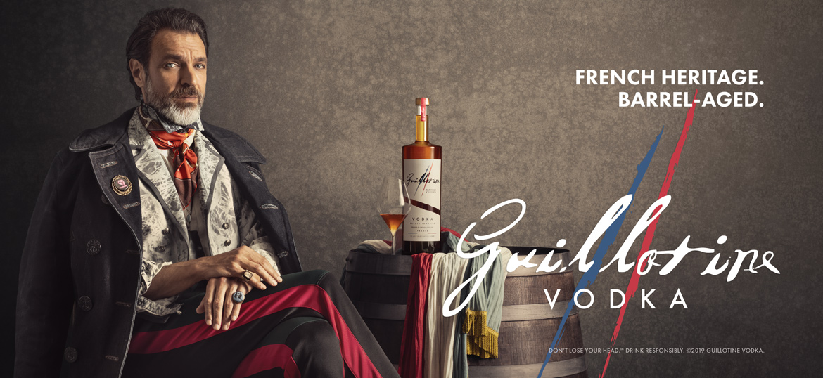 Guillotine Vodka - Heritage Winter 2019-20 Campaign